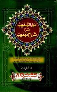Anwaar ut Tahzeeb Urdu Sharh Sharh ut Tahzeeb انوار التھذیب اردو شرح شرح تھذیب Pdf Download