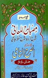 Misbah Ul Maani Urdu Sharh Sharh Ul Jami