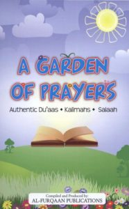 A Garden Of Prayers By Shaykh Amir Nazir