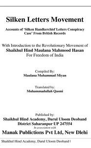 Silk Letter Movement By Maulana Muhammad Miyan